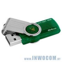 64Gb Kingston DataTraveler 101 G2 DT101G2/64GB Green USB 2.0