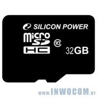 SDHC-micro Card 32Gb Silicon Power Class 10 (SP032GBSTH010V10) RTL