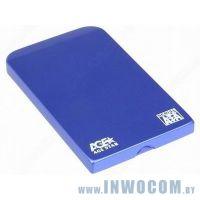 Внеш.корпус д/SATA 2,5 Agestar 3UB2O1 Blue USB3.0
