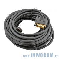 HDMI-DVI, Gembird 10м (CC-HDMI-DVI-10MC)