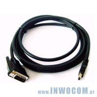 HDMI-DVI, Gembird 3м (CC-HDMI-DVI-10)