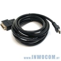 HDMI-DVI, Gembird 7.5м (CC-HDMI-DVI-7.5MC)