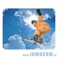 Коврик для мыши Buro BA02-02 Сноубордист