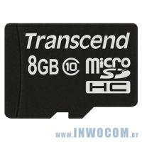 SD-micro Card 8Gb Transcend Class 10 TS8GUSDC10