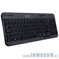 Logitech Wireless Keyboard K360 Black