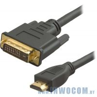 Кабель HDMI-DVI Cablexpert CC-HDMI-DVI-6