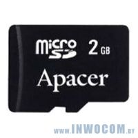 SD-micro Card 2048MB Apacer <AP2GMCSD-RA> (no adapter) (Ret)