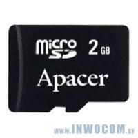 SD-micro Card 2048MB Apacer <AP2GMCSD2A-R> (2 adapter) (Ret)