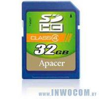SDHC Card 32Gb Apacer AP32GSDHC4-R