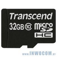 SD-micro Card 32Gb Transcend Class 10 (TS32GUSDC10)