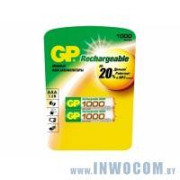 GP 100AAAHC-2CR2 1000mAh AAA 2шт