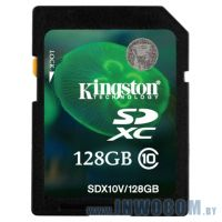 SDXC Card 128Gb Kingston Class 10 SDX10V/128GB