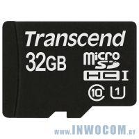 SD-micro Card 32Gb Transcend Class 10 (TS32GUSDCU1)