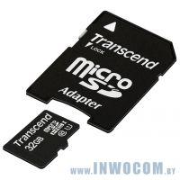 SD-micro Card 32Gb Transcend Class 10 U1 (TS32GUSDU1)