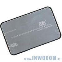 Внеш.корпус д/SATA 2,5 Agestar 3UB2A8S-6G Silver USB3.0