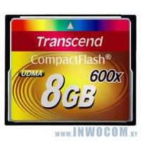 CF Card 8Gb Transcend 600x [TS8GCF600]