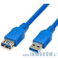 Кабель соединительный USB3.0 Am-Af Extension 3.0m Sven