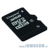 SD-micro Card 32Gb Kingston Class 4 (SDC4/32GBSP)