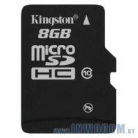 SD-micro Card 8Gb Kingston Class 10 SDC10/8GBSP