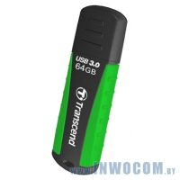 64Gb Transcend JetFlash 810 (TS64GJF810) Black-Green USB 3.0
