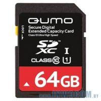 SDXC Card 64Gb QUMO Class 10 QM64GSDXC10 UHS-1