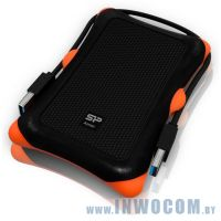 2.5 1Tb Silicon Power Armor A30 SP010TBPHDA30S3K Black USB 3.0