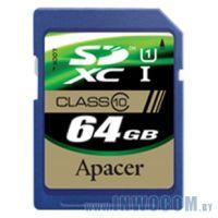 SDHC Card 64Gb Apacer AP64GSDXC10U1-R