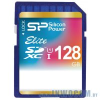 SDXC Card 128Gb Silicon Power Class 10 UHS-I SDXC (SP128GBSDXAU1V10) RTL