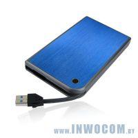 Внеш.корпус д/SATA 2,5 Agestar 3UB2A14 Blue USB3.0