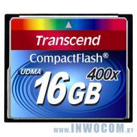 CF Card 16Gb Transcend (TS16GCF400) 400x RTL