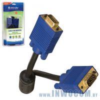Мониторный кабель SVGA 15m/15m Defender BB340M-06PRO, HDDB15 M M 1.8м