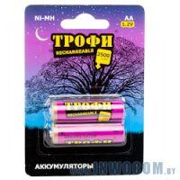 Трофи HR6-2BL 2500mAh AA 1шт. (2шт в упаковке)