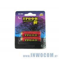 Трофи HR6-2BL 1800mAh AA 1шт. (2шт в упаковке)
