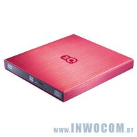 3Q (3QODD-T101H-TR08) Red (USB 2.0 Slim Drive, Лоток) RTL