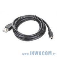 Кабель соединительный USB 2.0 A-microB 0,6m Gembird CC-mUSB2C-AMBM-0.6M Black