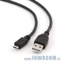 Кабель соединительный USB 2.0 A-microB 0.3m Gembird CC-mUSB2D-0.3M