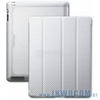 Cooler Master iPad Wake Up Folio Carbon Texture Silver White (C-IP3F-CTWU-SS)