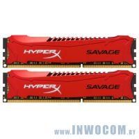 16Gb (2x8Gb) PC-15000 DDR3-1866 Kingston HyperX (HX318C9SRK2/16) RTL