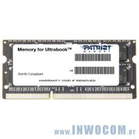 4Gb PC-12800 DDR3-1600 Patriot 1.35V (SODIMM)