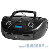 Аудиомагнитола BBK BX318U Black