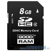 SDHC Card 8Gb Goodram SDC8GHC4GRR10 Class 4