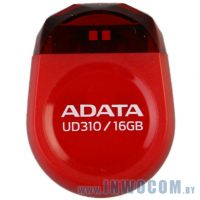 16Gb A-Data UD310 Red (AUD310-16G-RRD) (микро/пластик) USB 2.0 RTL