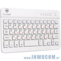 FlyCat KB28 White (Bluetooth)