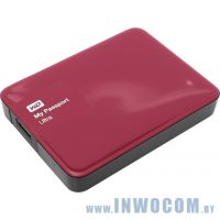 2.5 3Tb Western Digital My Passport Ultra Red WDBNFV0030BBY-EEUE (2.5, USB 3.0)