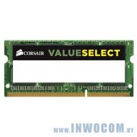4Gb PC-12800 DDR3-1600 Corsair Value Select (CMSO4GX3M1C1600C11) (SODIMM)