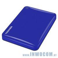 2.5 1Tb Toshiba Canvio Connect II (HDTC810EL3AA) Blue