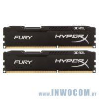 16Gb (2x8Gb) PC-12800 DDR3-1600 Kingston HyperX FURY (HX316LC10FBK2/16) RTL
