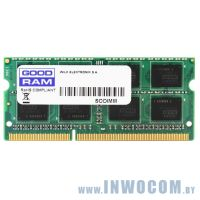4Gb PC-12800 DDR3-1600 Goodram GR1600S364L11S/4G (SODIMM)