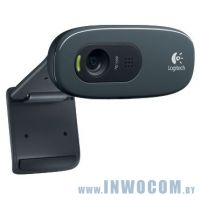 Logitech HD WebCam C270 Black (960-001063)