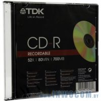 CD-R TDK 700Mb 52x speed